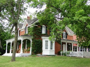 Eden Prairie; The Smith Douglas More House built in 1877