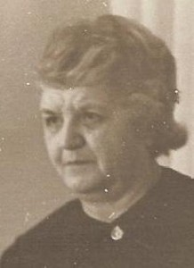 Rose Streit Welters in Oregon City abt 1954
