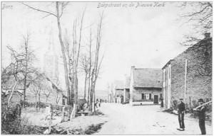 Born Dorpsstraat, abt. 1912