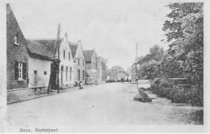 Born Kerkstraat, abt. 1925