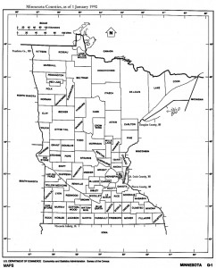 MN Counties 1990