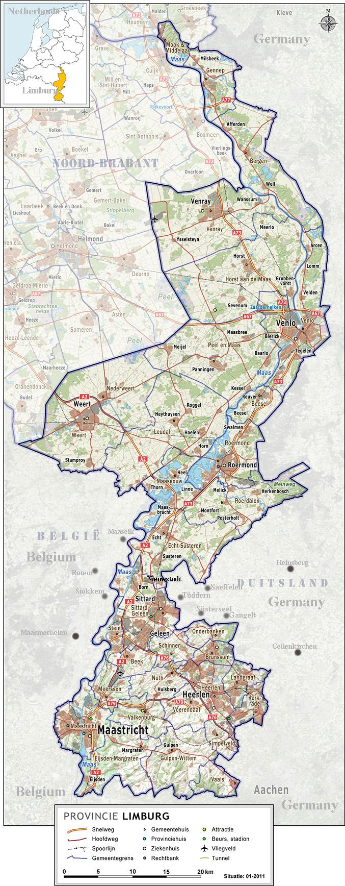 limburg-kaart
