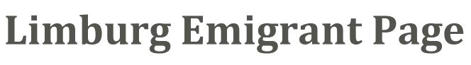 Limburg Emigrant Page